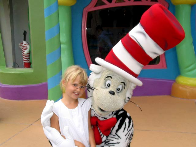 Cat in the hat at universal - florida