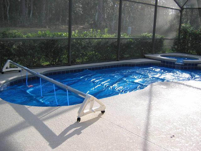 Awesome florida homes pool cover vacation home for for Florida pool homes